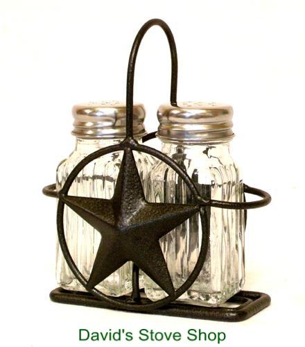 Metal Texas Star Salt   Pepper Shaker Set and Holder Western Ranch Decor.  ACSP4.jpeg d1b34c986c13