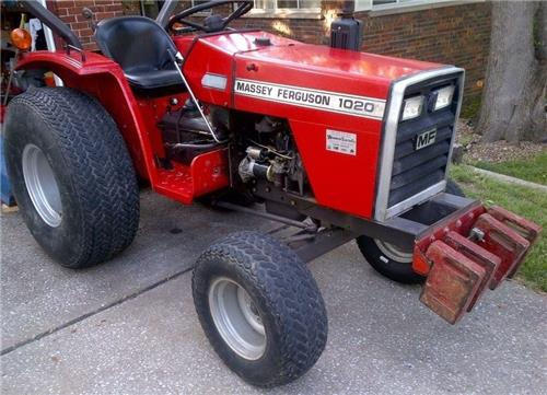 Massey Ferguson MF 1020 PDF Service Manual Download