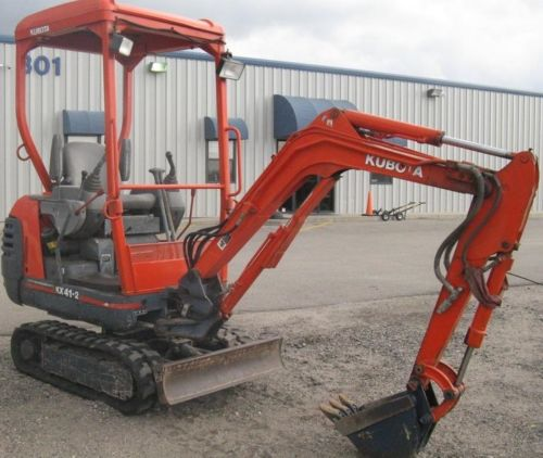 Kubota KX41-2 PDF Service Manual Download