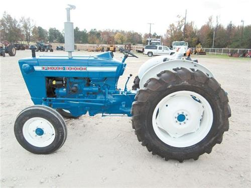 69 Ford 3000 Tractor : Ford pdf service manual download
