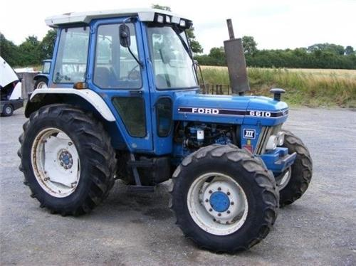 New Holland Service Manual 6610