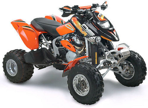 Bombardier DS650 DS-650 Baja 2002 PDF Service Manual Download