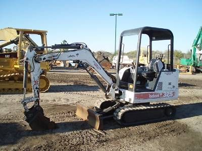 Bobcat 325D PDF Mini Excavator Service/Shop Manual Workshop Repair Guide Download!