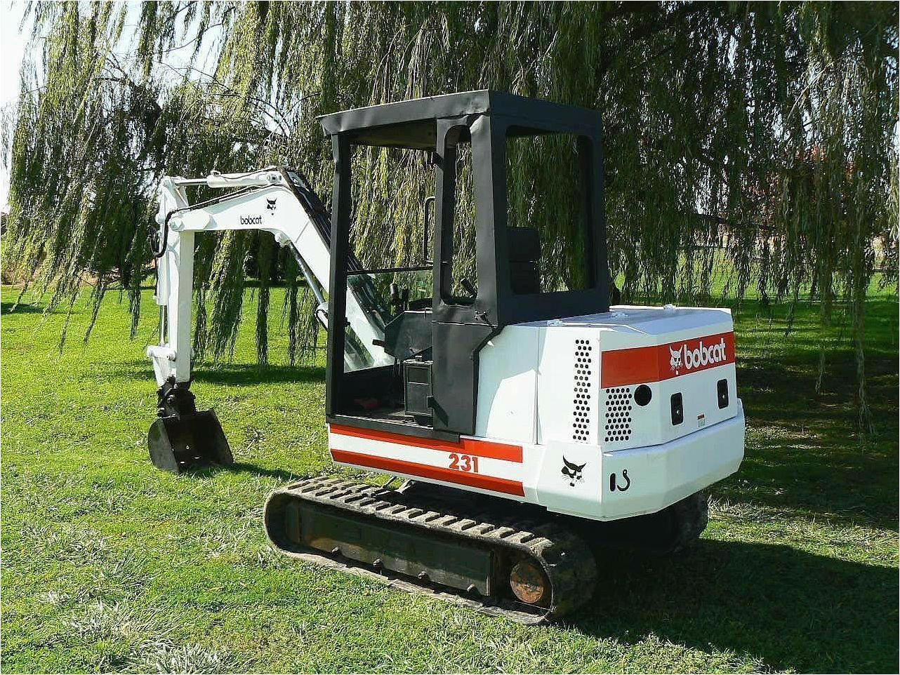 Bobcat 231! PDF Mini Excavator Service/Shop Manual Workshop Repair Download!