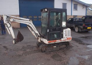 Bobcat X 220! PDF Mini Excavator Service/Shop Manual Workshop Repair Download!