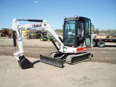 Bobcat 331E PDF Mini Excavator Service/Shop Manual Workshop Repair Guide Download!