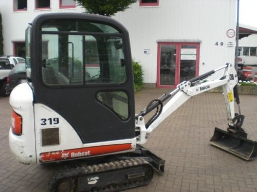 Bobcat 319! PDF Mini Excavator Service/Shop Manual Workshop Repair Guide Download!