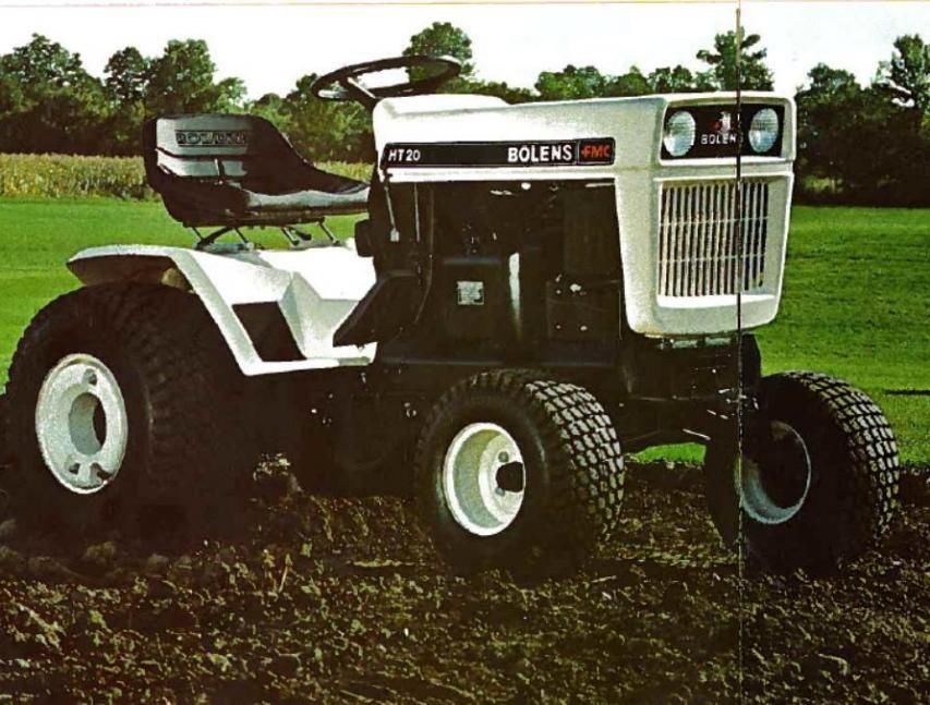 Bolens 2389 HT 20! PDF Large Frame Tractor Service/Shop Manual Repair Guide Download