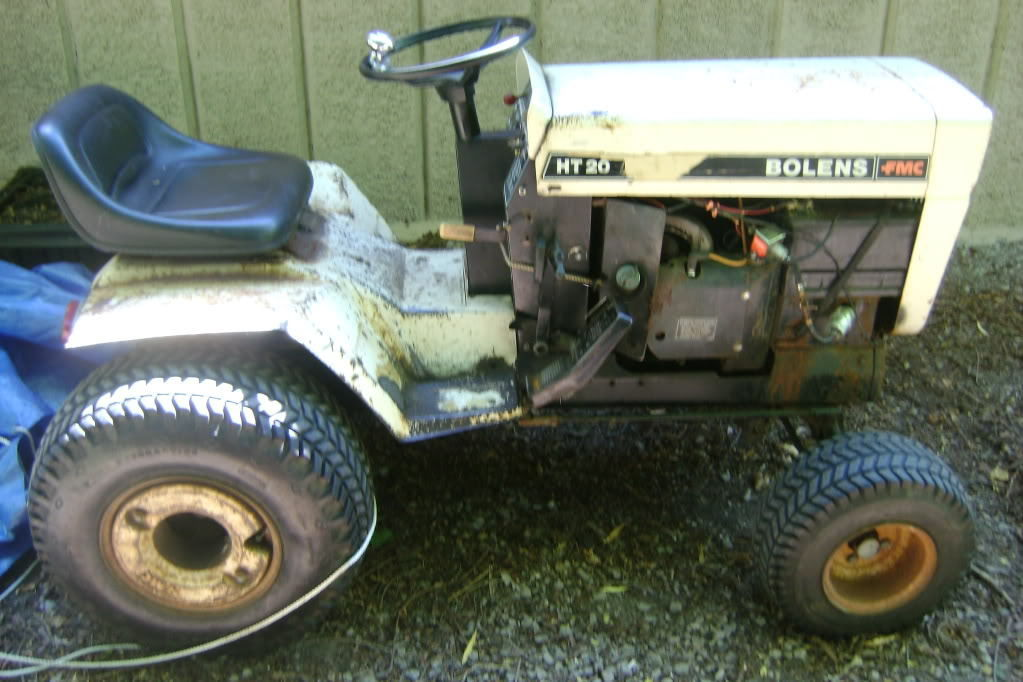 Bolens 2087 HT 20! PDF Large Frame Tractor Service/Shop Manual Repair Download!