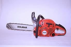 Dolmar PS 5000 HD! PDF Chainsaw Service/Shop Manual Repair Guide Download!