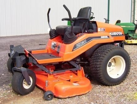 Kubota ZD21! PDF Zero Turn Mower Service/shop Manual Repair Guide Download!