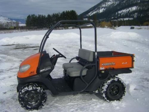 Kubota RTV500 2009! PDF UTV-Utility Service/Shop Manual Workshop Repair Download!