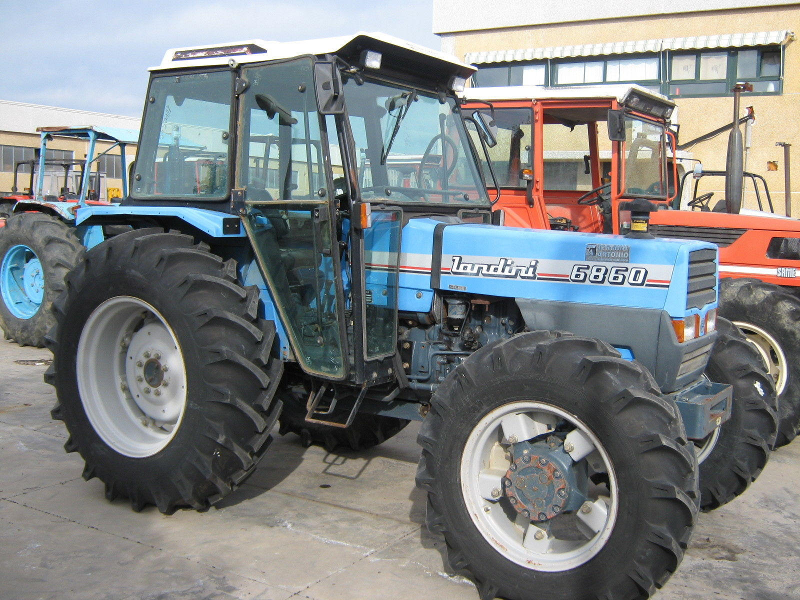 Landini Evolution 6860! PDF Tractor Service/Shop Manual Workshop Repair Download!