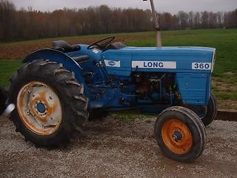 LONG 360 Tractor Series! PDF Tractor Service/Shop Manual Download!