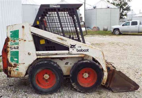 Bobcat 642 Loader  Pdf Skid Steer Service  Shop Manual