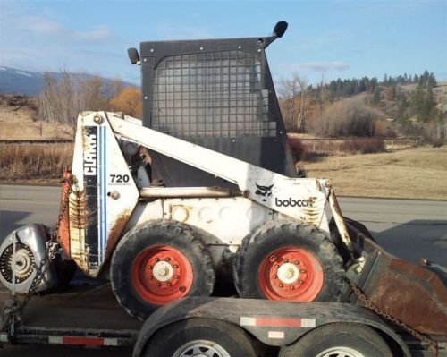 Bobcat 720 Loader  Pdf Skid Steer Service  Shop Manual