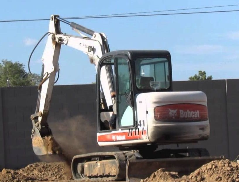 Bobcat X341 230611001+ PDF Excavator Service/Shop Manual Download