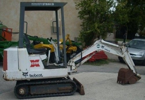 Bobcat 220 15001+ PDF Excavator Service/Shop Manual Download   Guide