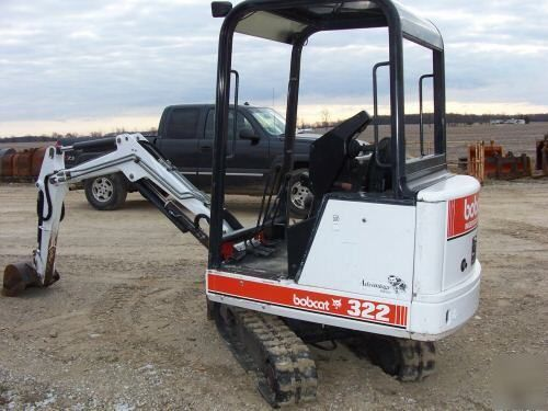 Bobcat 322 223511001+ D Series PDF Excavator Service/Shop Manual Download