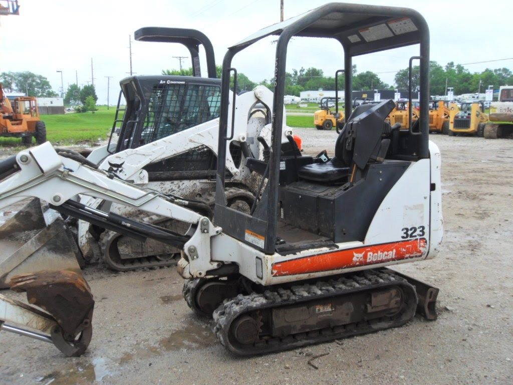 Bobcat 323 A9JZ11001+ PDF Excavator Service/Shop Manual Download