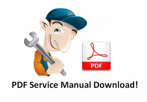 Komatsu Excavator Service manuals PDF Service/Shop Repair Manual Download!