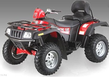 Arctic Cat 500, 500 TBX, TRV Auto 2005, PDF Service Manual