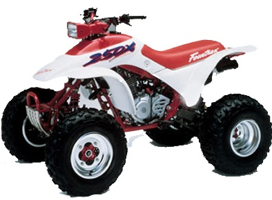 Honda Fourtrax TRX250 X 1987-1988, PDF Service Manual