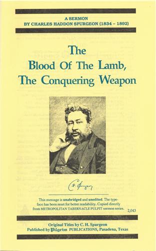 Blood of the Lamb, Conquering Weapon.jpeg