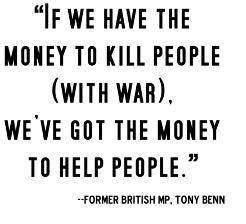 """""""If We Have The Money To Kill People. - Vinyl Wall Decal Sticker 14x22"""