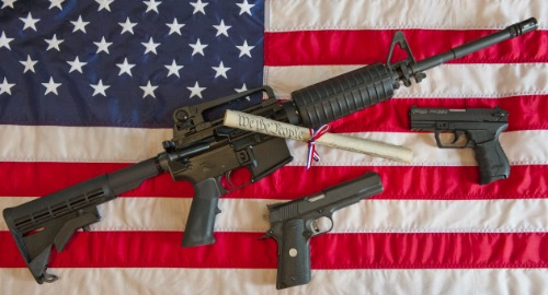 COOL UNITED STATES AR15 SNIPER FLAG GLOSSY POSTER PHOTO usa american weapon 2297