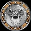 2013 Niue $1 Snake bite Year of the Snake Coin 2 Obv