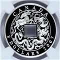 2007 CANADA $8 NGC PF-70 UCAM OBV 1