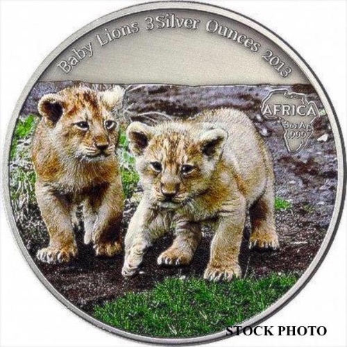 2013 REP CONGO 2000F BABY LIONS NGC MS-70 OBV 2