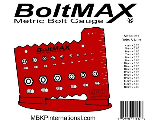 Boltmax Metric Bolt Gauge