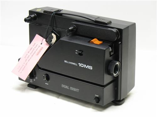 Bell & Howell 10MS Variable Speed Super Dual 8mm Movie Film Projector