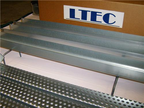 Ltec Metal Driveway Trench Drain 10 Ft Complete Kit