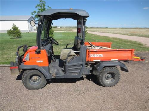 kubota rtv 900 4x4 diesel dump atv side by side 4 wheeler off road utility ac railiron used. Black Bedroom Furniture Sets. Home Design Ideas