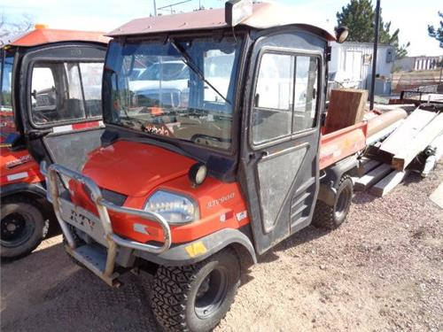 kubota rtv 900 4x4 diesel atv side by side 4 wheeler off road utility ranch railiron used. Black Bedroom Furniture Sets. Home Design Ideas