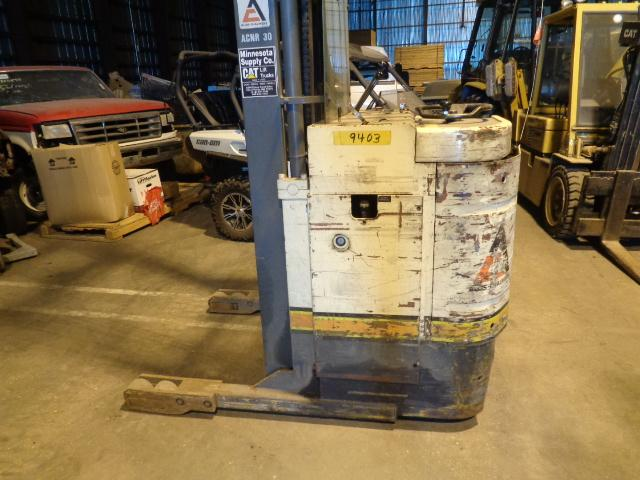 FORKLIFT STACKER STOCK PICKER ELECTRIC LIFT TRUCK GOOD BATTERY WORKS GOOD