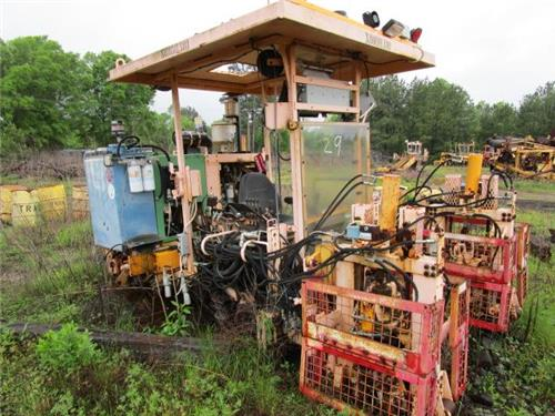 TAMPER MBCR MOW MAINTENANCE OF WAY RR RAILROAD