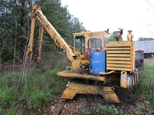 RTW 2181A TIE CRANE MOW MAINTENANCE OF WAY RR RAILROAD