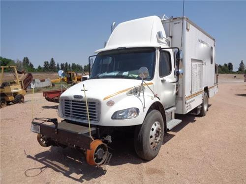 2010 FREIGHTLINER  HI RAIL RR RAILROAD TRACK INSPECTION TRUCK
