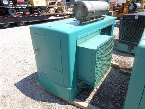 LOT OF 13 PROPANE OR NATURAL GAS BACKUP GENERATORS VARIOUS SIZES AND KVA'S