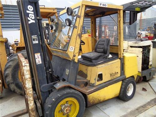 Manual for yale Glc060 Forklift