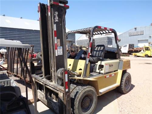 YALE DIESEL FORKLIFT PICKER HOIST TRUCK 15000 POUND CLEAN MACHINE
