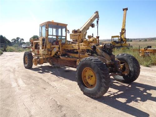 CAT CATERPILLAR 12 E MOTOR GRADER MAINTAINER SCRAPER BLADE FARM RANCH MACHINE