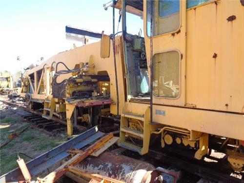 MARK 3  PRODUCTION RAILROAD TAMPER MOW RR TIE