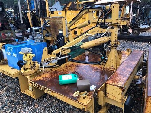 QUALITY CONTROL CART RAILROAD MOW RR TRACK MACHINE