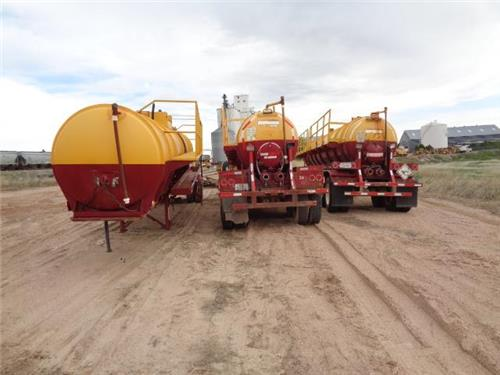 LOT OF 3 VAC VACUUM TRUCK TRAILERS