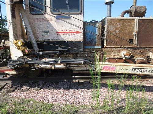 RAILROAD RR HIGHRAIL MOW SHORTLINE TRACK NORDCO BRUSH CUTTER